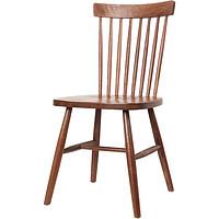 北欧实木温莎椅咖啡餐厅桌椅组合现代简约靠背椅美式餐椅家用椅子