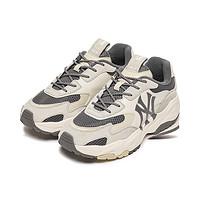 MLB官方男女老爹鞋NY增高厚底情侣运动小白鞋21年秋季新款SHC3S
