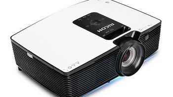 配备4K光学变焦镜头:RICOH 理光 发布 PJ HD1080投影仪