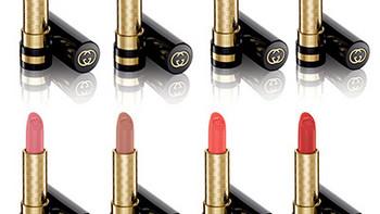 加入含有精油的滋养成分:GUCCI 古驰 发售 2015秋冬季奢华滋养唇膏系列
