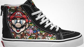 经典游戏穿上脚:VANS 范斯 x Nintendo 任天堂 联名系列 即将发售