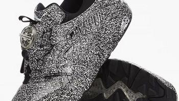 """专治密集恐惧症:PUMA 彪马 x TRAPSTAR 联名款 Disc Blaze """"White Noise"""" 运动鞋 即将发售"""