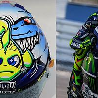 迫不及待的开箱:摩托车入坑第一步——AGV Corsa 罗西 小丑鱼头盔