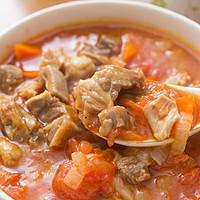 我自创的简单易学的家宴大菜:法式胡萝卜番茄洋葱炖牛肉