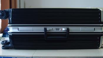 晒一晒 Monsca 摩斯卡 24寸黑色商务 拉杆箱