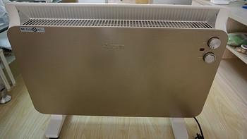 """#来暖器了#为忘交供暖费""""补牢""""——AIRMATE 艾美特 HC22132-W 欧式快热炉取暖器"""