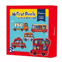 1.5~2岁:宝宝精细动作开始第一步——拼图和贴纸