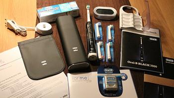 欧乐-B 7000 iBrush 3D 蓝牙 智能电动牙刷使用总结(速度|档位|控制|动力|充电)