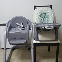 实用至上:Graco 葛莱 Blossom4-in-1SeatingSystem 4合1儿童餐椅系统