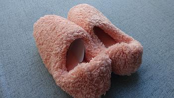 薅点小羊毛:网易严选 暖暖绒毛 包跟拖鞋