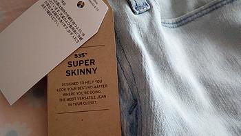 美亚黑五初体验:10美元买条Levi's 李维斯 535 牛仔裤