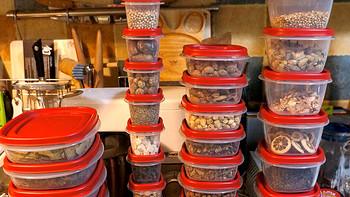 厨神的厨房 篇三十:关于我收纳经验的冰山一角:Rubbermaid乐柏美食物储藏盒42件套装开箱晒单+使用评测