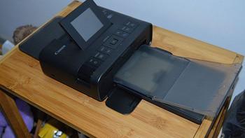 记录孩子的成长:Canon 佳能 CP1200 便携照片打印机开箱及使用体验