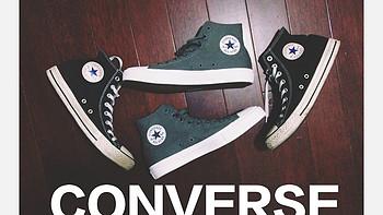 我的第N双鞋 篇十一:Lunar加持!CONVERSE 匡威 Chuck Taylor All Star II 高帮帆布鞋(附与一代对比)