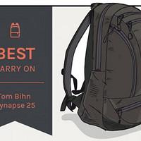 """#本站首晒# Tom Bihn SYNAPSE 25,它可以是你的""""唯一""""一个包"""