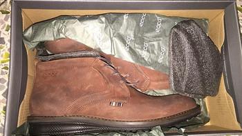 晒单:我购买的第二双 ecco 爱步 男款休闲皮鞋