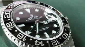 #原创新人# 那一抹绿:东京自由行购买 ROLEX 劳力士 格林尼治型II系列 116710LN 男款机械表