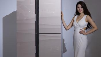 全新T型设计:Ronshen 容声 推出 零度·净界 三开门冰箱