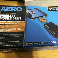 洋垃圾开箱简测记:PATRIOT 博帝 AERO 无线移动硬盘盒