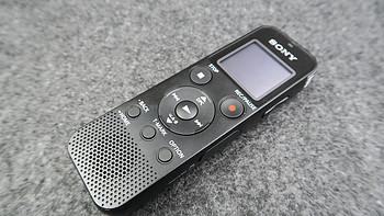#本站首晒# SONY 索尼 ICD-PX470 4GB 录音笔开箱