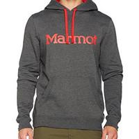 英亚海淘 Marmot 土拨鼠 男士连帽套头长袖运动卫衣 M码附尺寸