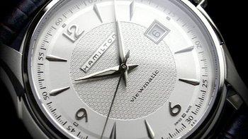 HAMILTON 汉米尔顿 爵士系列 H32515555 机械男士手表 非专业人士伪开箱(多图慎入)