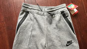 我是Nike粉 篇五:穿条女童裤!Nike 耐克 G NSW TCH FLC PANT KNT 收脚针织长裤(附实测尺码及真人兽)