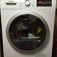 BOSCH 博世WTW875600W 热泵干衣机 体验