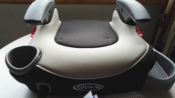 为了孩子的安全:Graco 葛莱 Affix无背式汽车安全增高垫 晒单