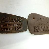 Clarks originals 马登 沙漠靴 晒单