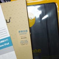 #热征#白菜党#解毒 ZOYU苹果iPad Air2保护套和钢化膜