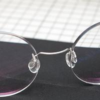 木小偶的四眼日记 篇一:手工钢丝镜架晒单& 尺寸微调