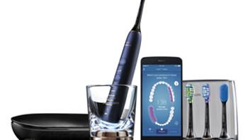 搭载蓝牙智能感知:PHILIPS 飞利浦 发售新款 HX9954/52 钻石亮白智能系列 声波震动牙刷