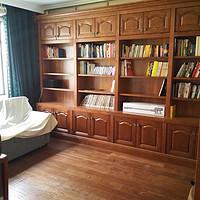 屌丝装修,强行美式 篇二:书房、衣帽间、卫生间
