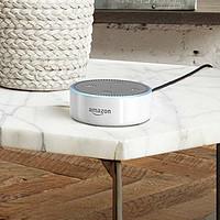 #本站首晒#亚马逊Amazon Alexa怎么玩?智能小音箱 Echo Dot 第二代 开箱评测
