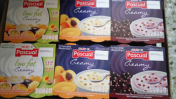 Pascual 帕斯卡 巴氏热处理 三种口味 酸奶 开箱简评