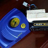 父亲节的礼物 — DIY可更换锂电池充气泵(固特异与得伟合体)
