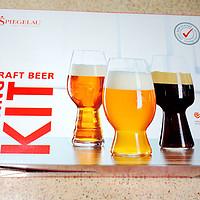 #本站首晒#让泡沫之夏更精彩 - Spiegelau诗杯客乐 Craft Beer Glasses啤酒杯三件套