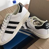 #淘金V计划#ebay 首单 adidas 阿迪达斯 Superstar Boost 男款 运动板鞋 开箱