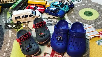 给儿子买的第N双鞋 篇二十四:夏日必备!Crocs卡骆驰小贝雅儿童洞洞鞋(附尺码、对比、真人兽)