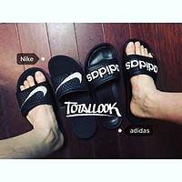 我的第N双鞋 篇十九:拖鞋对决!Adidas Laoxo 拖鞋(附与Nike拖鞋对比)