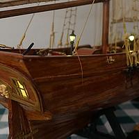 父亲的手工——实木船模