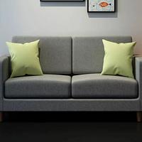 8H独立袋装弹簧布艺沙发 双人座极速开箱及安装