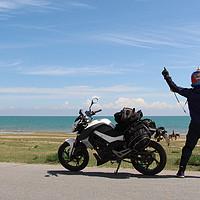 #原创新人#三台国产摩托的青岛-青海湖穷游试炼之旅