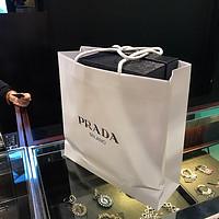 香港购物分享——Prada草编皮鞋开箱分享