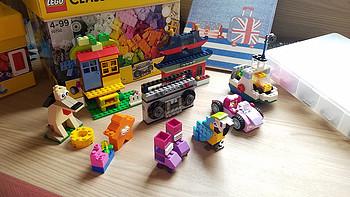 何以解忧,有我乐高 篇二:专注力训练好帮手——LEGO 乐高 10702 小颗粒创意拼砌套装