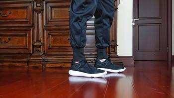 向经典的Air Jordan IV致敬:Air Jordan Fly '89黑白 一脚蹬忍者鞋