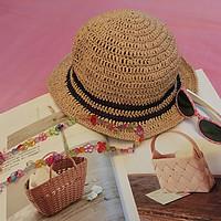 戴上草帽去玩耍吧:夏季钩编の棉草拉菲系列