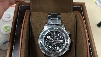 Ashford购入 BREITLING 百年灵 SUPEROCEAN系列 A13311D1-C936-161A 男士机械腕表
