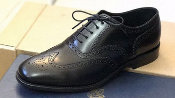 Be a Better Man,Suit up! 篇三:一双黑色牛津布洛克鞋—Herring Richmond brogue开箱&尺码